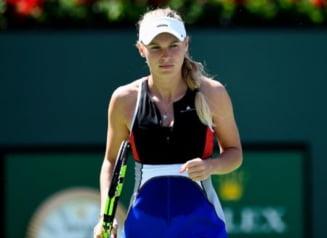 Victorie cu emotii pentru Caroline Wozniacki la Indian Wells: Calculele pentru locul 1 WTA