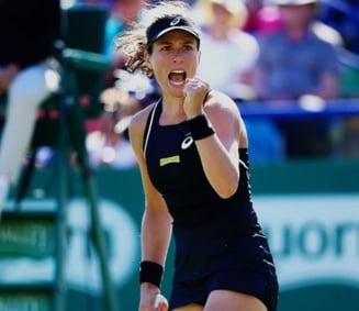 Victorie impresionanta pentru Johanna Konta la Rogers Cup