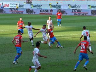 Victorie istorica in Liga 1: Sepsi invinge clar FCSB