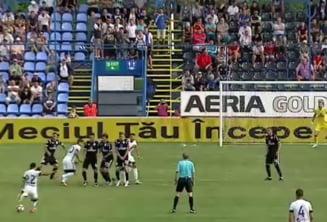 Victorie la scor pentru Viitorul lui Hagi in prima etapa din Liga 1. Gol fabulos pentru Ganea