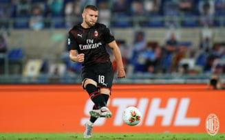 Victorie mare pentru AC Milan la Roma
