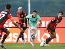 Victorie pentru Inter Milano in Serie A: scor 3-0 cu Genoa