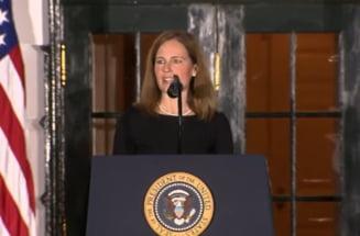 Victorie uriasa pentru Donald Trump. Judecatoarea conservatoare Amy Coney Barrett, confirmata la Curtea Suprema a SUA