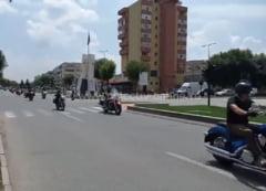 Video | Parada motociclistilor de la Black and White Motor Party Calarasi