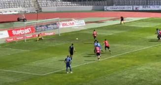 """Video. Ribeiro de la """"U"""" Cluj a batut in cel mai penibil mod penaltyul primit in meciul cu Recea"""