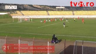 Video. Vezi golul lui David Ciurcui din meciul cu Unirea Alba Iulia