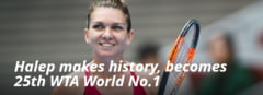 Videoclipul dedicat de WTA Simonei Halep. VIDEO