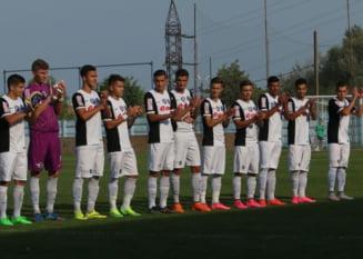 Viitorul lui Hagi smulge o remiza in UEFA Youth League