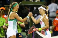 Vika Azarenka castiga cel mai asteptat meci al sfarsitului de saptamana din circuitul WTA, cu o tripla castigatoare de Mare Slem