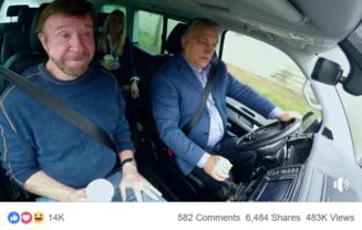 Viktor Orban l-a primit pe Chuck Norris in Ungaria: Sunt un luptator de strada. Liberalii ma urasc