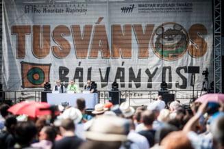 Viktor Orban si-a facut campanie la Baile Tusnad cu atacuri la Soros si Bruxelles
