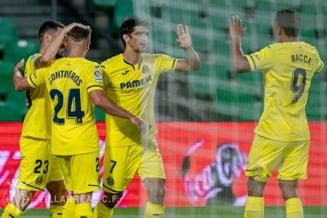 Villarreal a invins Betis Sevilla, scor 2-0, si se mentine aproape de locurile de Liga Campionilor
