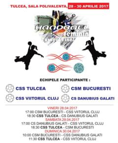 Vineri, sambata si duminica, la Sala Polivalenta, CSS Tulcea joaca in turneul semifinal de handbal feminin