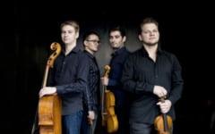 Vioara, viola, violoncel. Cvartetul Giocoso din Austria concerteaza la Peles
