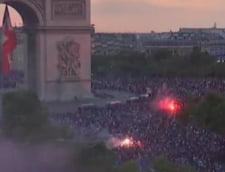 Violente in Franta dupa castigarea Cupei Mondiale: Masini incendiate, sute de oameni arestati si doi morti (Video & Foto)