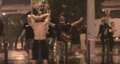Violente la Budapesta: Suporteri romani, arestati (Video)