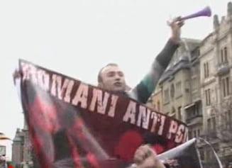 Violente la Timisoara intre sustinatorii PSD - PNL si cei ai PD-L