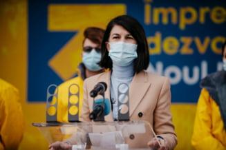 Violeta Alexandru: Nicusor Dan este bucurestean si votul sau va fi pentru lista PNL Bucuresti. Vom corecta in Parlament toate populismele, toate legile calcate in picioare de PSD