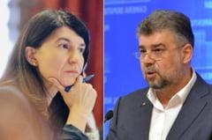 Violeta Alexandru: PSD testeaza si alti candidati decat Firea. Ciolacu: Violeta Alexandru e o mincinoasa si dezinformeaza