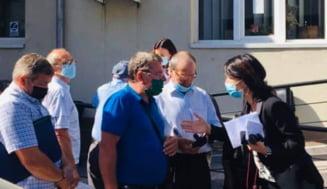 """Violeta Alexandru, dupa vizita la santierul din Bucuresti unde s-au raportat cazuri de coronavirus:""""Am cerut raport la ITM"""""""