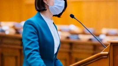 Violeta Alexandru propune USR PLUS completarea protocolului din campania electorala, dupa respingerea bugetului Capitalei