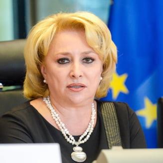 Viorica Dancila (PSD) ataca un coleg german, care a indraznit sa critice Legile Justitiei: Atitudinea lui va fi discutata in grupul socialist din PE
