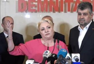 """Viorica Dancila, atac la actuala conducere PSD: """"Multi din partid au fost si sunt yes-mani. Si Marcel Ciolacu si toti au votat modificarea Codurilor"""""""