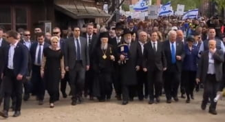 Viorica Dancila, la Auschwitz. A fost singurul inalt oficial de la Marsul Vietii, boicotat si de polonezi, si de israelieni (Video)