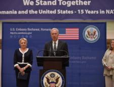 Viorica Dancila, la un eveniment al Ambasadei SUA la Bucuresti, inainte de vizita in State