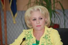 Viorica Dancila a decis sa conduca Guvernul din biroul lui Adrian Nastase