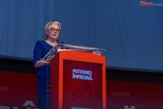 Viorica Dancila a nominalizat reprezentanti ai ALDE pentru ministerele lasate libere