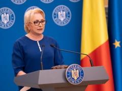 Viorica Dancila anunta ca a reclamat la CCR conflictul cu Iohannis