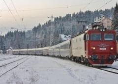 Viscolul s-a potolit, dar CFR a anulat si vineri aproape 50 de trenuri