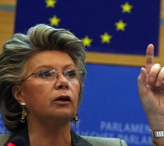 Viviane Reding: CE va discuta situatia Romaniei saptamana viitoare