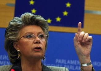 """Viviane Reding: In Romania nu se respecta statul de drept. Pentru asta exista """"optiunea nucleara"""""""