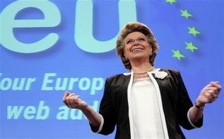 """Viviane Reding: Termenul """"rrom"""" nu inseamna Romania"""