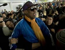 Vizita in Coreea de Nord ii creeaza noi probleme lui Dennis Rodman