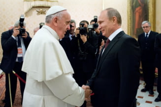 Vizita istorica: Putin s-a intalnit cu Papa Francisc - gestul care a socat presa de la Vatican (Galerie foto)