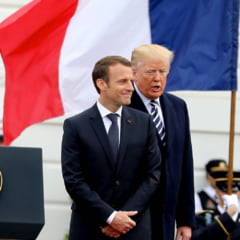 Vizita lui Emmanuel Macron in SUA, o ploaie de primavara care a trezit la viata Casa Alba