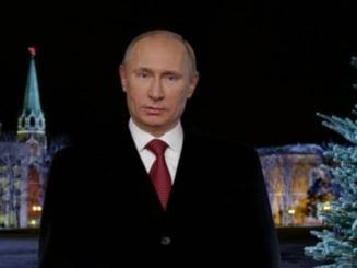 Vladimir Putin, discursul de Anul Nou - vezi ce le-a urat rusilor (Video)