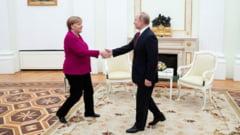 "Vladimir Putin si Angela Merkel au discutat despre o posibila ""productie comuna de vaccinuri"""