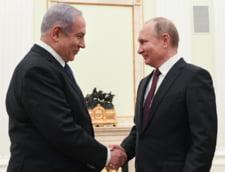 Vladimir Putin si Benjamin Netanyahu se intalnesc la Moscova