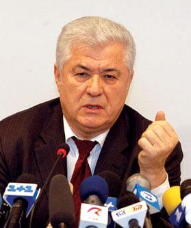 Vladimir Voronin: Votam presedintele, cu doua conditii