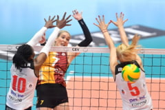 Volei Alba Blaj pierde in mod categoric finala Ligii Campionilor