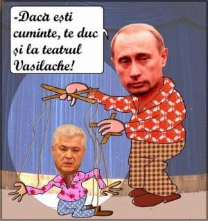Voronin, de la marioneta lui Putin, la Terminator