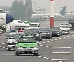 Voronin a ajuns la Bucuresti
