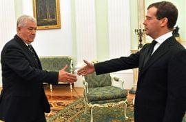 Voronin isi joaca ultima carte intr-un tete-a-tete cu Medvedev