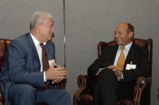 Voronin recunoaste ca Basescu i-a propus sa fie presedintele Romaniei Mari: Cum a raspuns