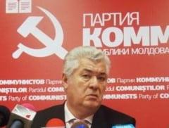 Voronin se ia din nou de Basescu: O persoana care nu se stie daca e beata sau treaza