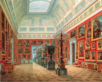 Voronin se ofera sa returneze Ermitajului doua tablouri furate